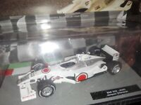 BAR 002 2000 JACQUES VILLENEUVE  FORMULA 1 AUTO COLLECTION #92 - MOC