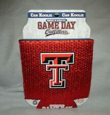 Texas Tech Red Raiders Shiny Bling Can Koolie Koozie Red Game Day Outfitters