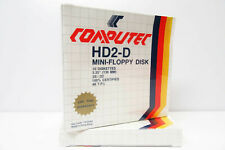 """10x Computec 5.25"""" Floppy Disk Pack -NOS- FACTORY SEALED - for Vintage Computer"""