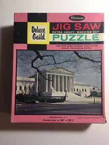 Whitman Guild Picture Puzzle Vintage 378 Pieces WASHINGTON D. C.  COMPLETE