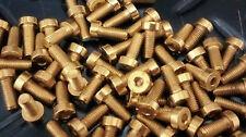 Zylinderschrauben M5 vergoldet für Lenkradnaben Momo,Sparco,VW ,BMW,Opel