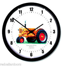 "New MINNEAPOLIS MOLINE Model U Tractor Wall Clock 10"" Round Years: 1948-1952"