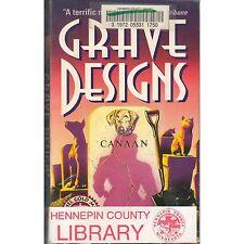 GRAVE DESIGN Michael A. Kahn PB 1992 1st x-lib Rachel Gold K2