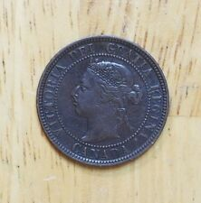Canada 1901 One Cent VF-XF Check It Out!!  KM# 7  #AA172
