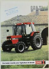 prospectus brochure tracteur CASE IH SERIE 856 XL  tractor traktor prospekt