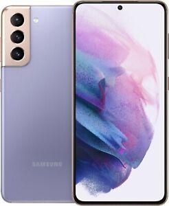 NEW Samsung Galaxy S21 5G SM-G991U 128GB - Phantom Violet (T-Mobile) Sealed Box
