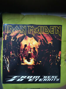 IRON MAIDEN - FROM HERE TO ETERNITY - MAXI S. - 1992 UK