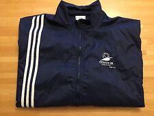 Vintage 1998 France Fifa World Cup Adidas Windbreaker Jacket Size Medium Navy