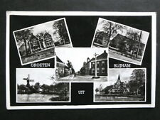 Old Photo Postcard: 5 Views at Blijham Netherlands / Holland 1940s/1950s