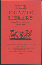 Physical Book-Arts. Book Collecting. Bookmaking.  Private Library E3.174