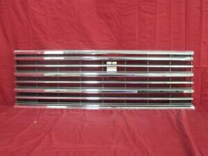NOS OEM Plymouth Voyager Front Grille Chrome 1987 - 1990 4515052