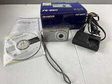 Olympus FE FE-360 8.0MP Digital Camera - Silver