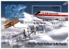 Air Canada BOEING 747/Wright Flyer Diagram Aircraft Stamp Sheet/2003 Micronesia