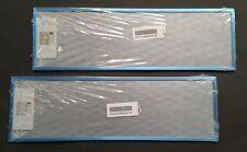 2 x Original Fettfilter AEG Metallfettfilter Metall Electrolux DF6260 Filter
