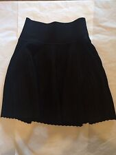 BNWT Opening Ceremony Vert Stripe Black Skirt Size Medium $450 New
