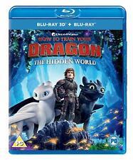 How to Train Your Dragon The Hidden World 3d 2d Region B Blu-ray Digital