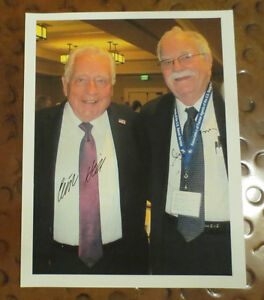 Clint Hill & Jerry Parr Secret Service Agents Kennedy signed autographed photo