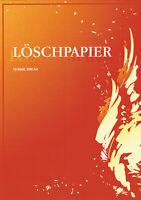 LÖSCHBLATTBLOCK a 10 Blatt, Blöcke DIN A4 DIN A5 Löschblätter Lösch-papier-block