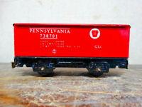 Vintage Tin Litho Pennsylvania 738701 Marx? Lionel? Tall Gondola - Rare Find
