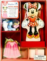 Melissa & Doug Minnie Mouse Authentic Disney Parks Magnetic Wooden Dress Up Set
