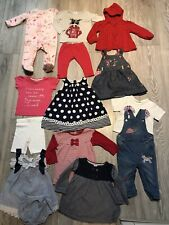 Baby Girls Clothes Bundle Age 9-12 Months