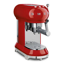 Smeg Espresso Coffee Machine, Red
