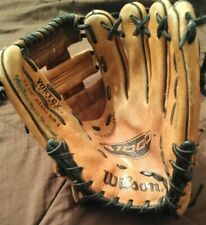 "PRE-OWNED WILSON A1000 A1430 11 1/4"" VORTEX LEATHER RIGHT HAND BASEBALL GLOVE"