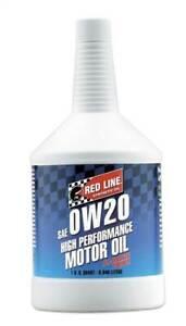 Red Line High Performance Engine Oil 0W20 946ml (1 US Quart)