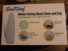 SunKloof Standard Size Deluxe Ironing Board Cover & Pad - Blue Eco-friendly Nib