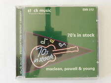 CD 70´s in stock Maclean Powell Young Music Production Libary SMI 312