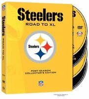 Steelers: Road to XL - Post-Season Collector's Edition (DVD, 2006, 4-Discs, FF)