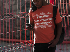 Beetlejuice Quote T Shirt I Myself Am Strange And Unusual Tim Burton Lydia Deets