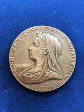 1897 Great Britain Queen Victoria Diamond Jubilee Official Medal, 56mm, Bronze