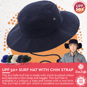Sun Surf Hat for Men and Unisex UV Protection UPF 50+ Wide Brim Bucket Hat AH707
