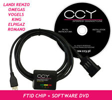 LANDI- RENZO OMEGAS VOGELS LPG GPL CNG Diagnose Interface USB WITH SOFTWARE CCY