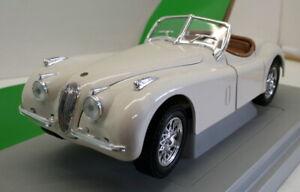 Britains 1/18 Scale Diecast - 7482 - 1948 Jaguar XK120 - Cream