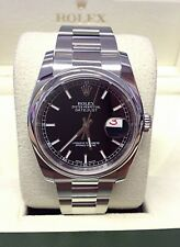 Rolex Datejust 116200 36mm Black Dial - Box & Paperwork 2013