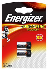 2x A544 V 28 PX L LR44 Energizer Alkaline Alkani Mangan 6V 1x 2er Bli.