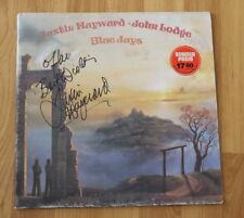 """ORIGINAL Autogramm von Justin Hayward. pers. gesammelt auf VINYL 12"""" MOODY BLUES"""