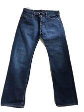 Levis 501, Mens Blue Denim, Jeans. W32 x Inside Leg 30