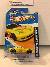 '11 Corvette Grand Sport #162 * Yellow TRU Only * 2012 Hot Wheels * M2