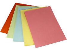 insgesamt 500 Blatt Set mit 25 Farben Tonpapier Set BUNT DIN A4 130 g//m