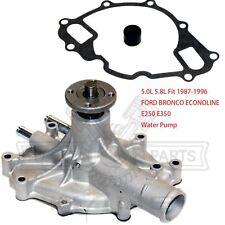 Engine Water Pump for 1987-1996 Ford Bronco Pickup F150 5.0L 5.8L V8