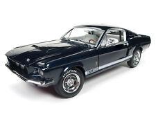 1:18 Autoworld AMM1111 1967 Shelby GT-500 50th.Anniversary BlauNeu & OVP