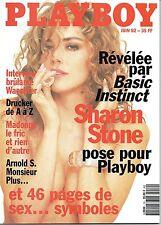 Playboy FRANKREICH 06/1992   SHARON STONE & PAMELA ANDERSON*   Juni/1992