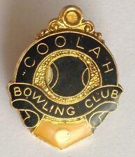Coolah Bowling Club Badge Rare Vintage (M9)