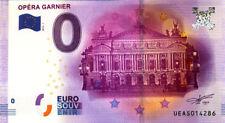 75009 L'Opéra Garnier, 2016, Billet 0 € Souvenir
