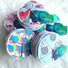 4 Sets -Reusable Breast Pads- Machine Washable For Nursing Mothers