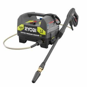 RYOBI 1,600 PSI 1.2 GPM Electric Pressure Washer