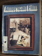 American Film Magazine -Lot of 5 - Back Issues from the 1970's